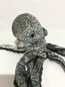 Ty Beanie Baby Opie the Octopus With Blue Eyes 2004 Retired