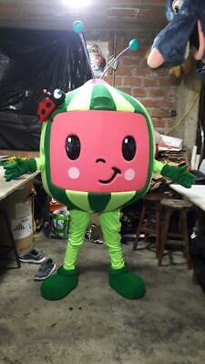 Cocomelon Mascot Costume Halloween Party Character Fancy Dress ALL SIZE cosplay