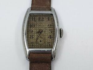 Early-Vintage-Gentleman-039-s-Mechanical-Wrist-Watch-for-Repair-Vintage-Wrist-Watch