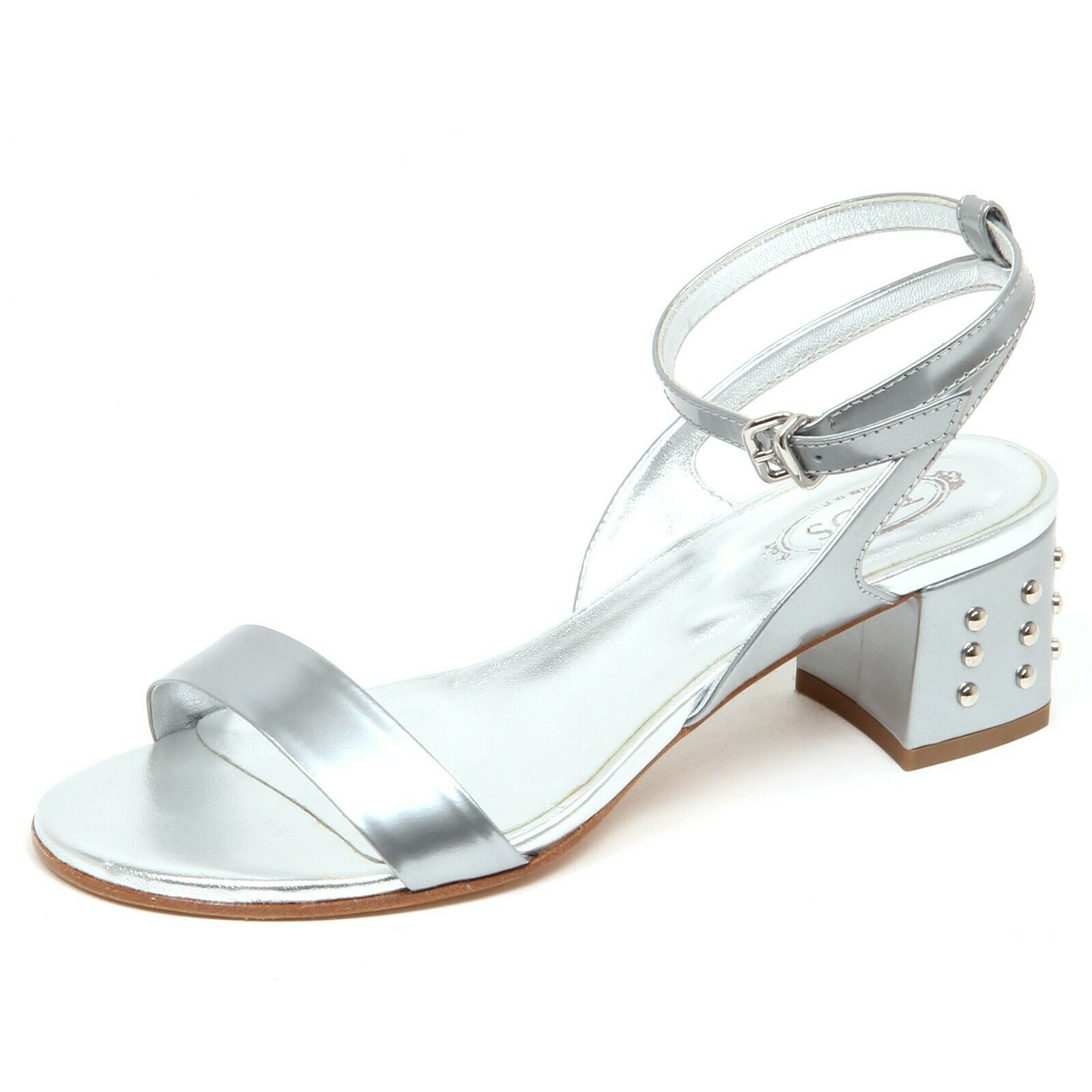 F3316 Sandalo mujer Plata Tod'S zapatos clavos zapato zapato zapato mujer  Precio por piso