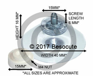 4-x-40mm-Threaded-Screw-Suction-Cup-with-Separate-M4-Nut-Suckers-for-Glass