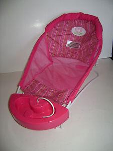 american girl bitty baby twins doll bathtub bath tub sprayer seat pink retired ebay. Black Bedroom Furniture Sets. Home Design Ideas