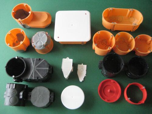 Hohlwanddose Unterputz Trockenbau Dose Schalterdose Abzweig Gerätedose  wählbar