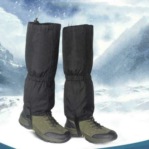 Outdoor Wanderschuhe Gamaschen Wasserdicht Schnee Leg Abdeckung HOT