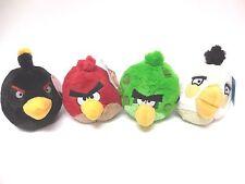 "Angry Birds Assorted Plush Doll 4pc Kids Plush Doll Stuff Animals 5"" New"