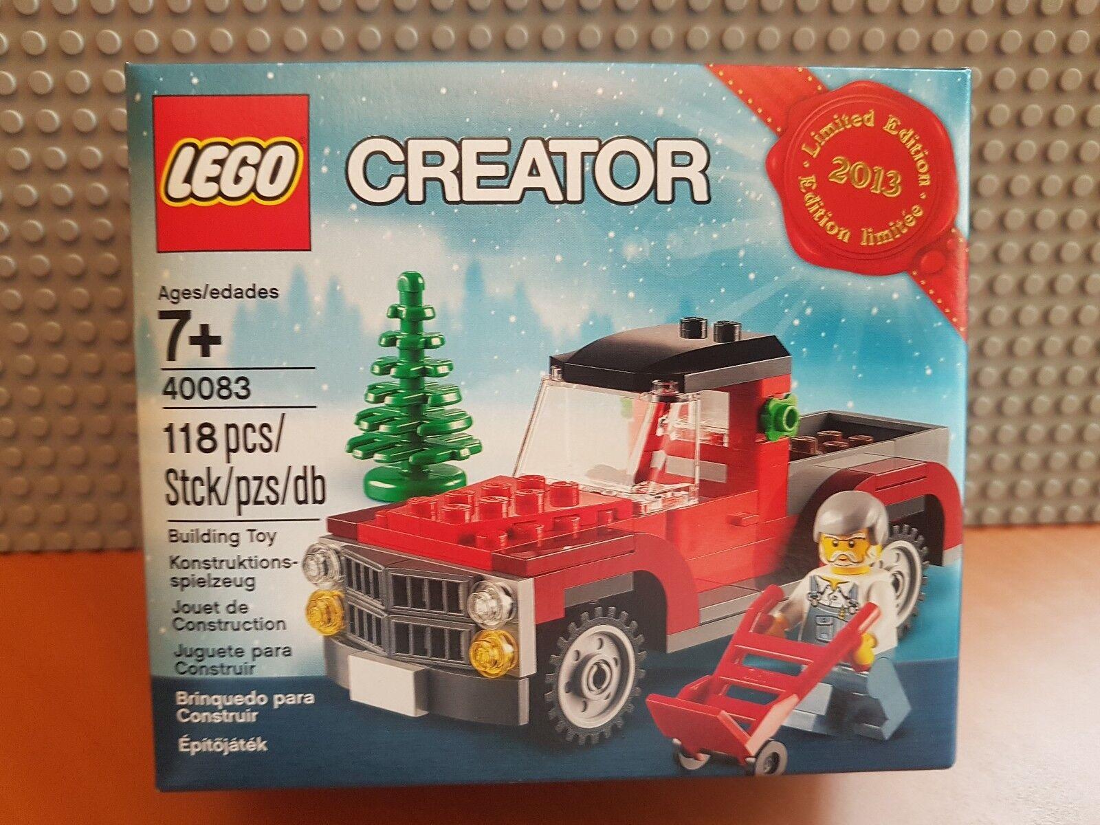 LEGO CREATOR/40083/Ltd Edition/2013 vacanze LEGO Store/Albero di Natale CAMION ✔ NUOVO CON SCATOLA