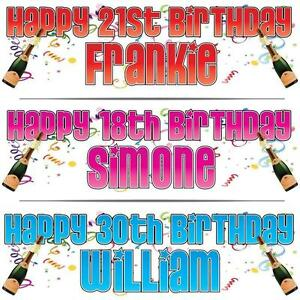 2-PERSONALISED-BIRTHDAY-BANNER-x-2-18th-21st-30th-40th-CELEBRATION-36-034-x-11-034