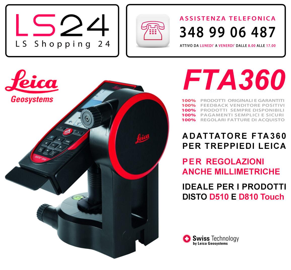 Leica FTA360 - Adattatore per Treppiede e Misuratori DISTO by Leica Geosystems