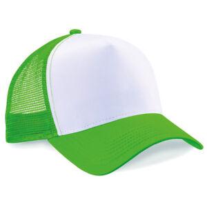 Image is loading Beechfield-Original-Headwear-Trucker-Hat-with-Snapback -Fastner- 3d83c62a786