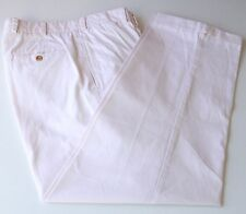 Bills Khakis M2 Flat Front Light Pink Pants 100% Cotton Made in USA 33W 29L