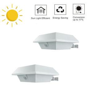 2Stk-Solarlampe-mit-Bewegungsmelder-12-LEDs-PIR-Solarlampe-Licht-fuer-Dachrinnen