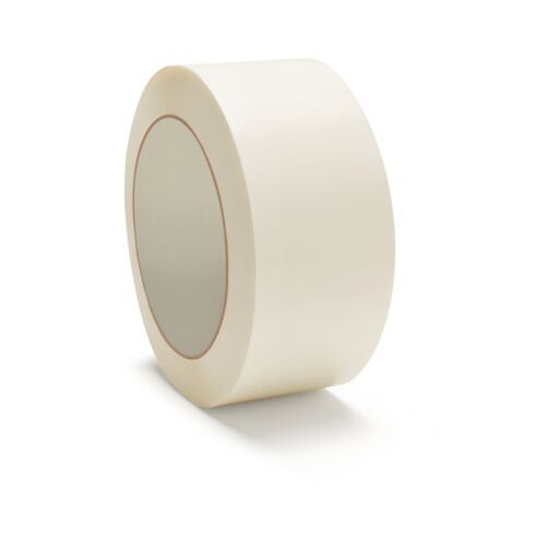 12 Rolls White Color Carton Box Sealing Packaging Packing Tape 2 Mil 48mm x 100m