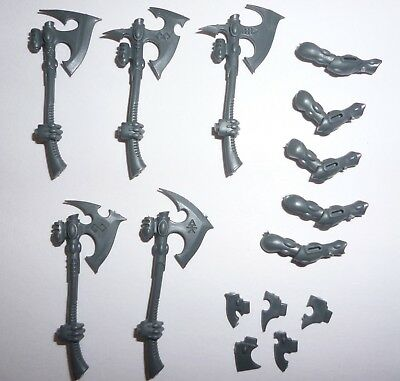 G1699 Craftworlds Aeldari Wraithguard Ghostaxe /& Right Arm x 5
