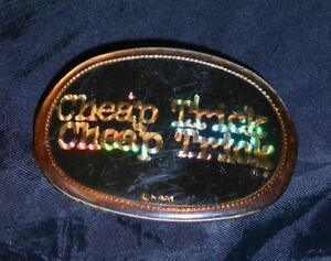 CHEAP-TRICK-ORIGINAL-3-1-2-034-BELT-BUCKLE-PACIFICA-FROM-SD-SPORTS-ARENA-1978