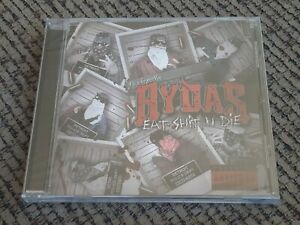 NEW-Psychopathic-Rydas-Eat-Shxt-N-Die-CD-insane-clown-posse-twiztid-boondox-ICP