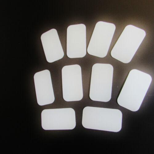 10 x Sticker reflective Film Tape Strip Sticker Reflector Reflection