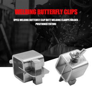 8pcs-set-Steel-Welding-Butterfly-Clip-Butt-Clamps-Holder-Positioner-Fixture-Tool