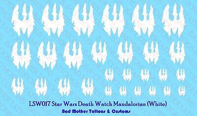 Star Wars Rebel Boba Fett Waterslide Decals Small Scale Decals