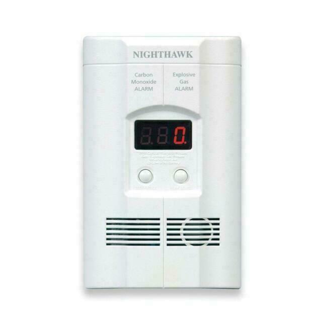 Kidde KN-COEG-3 Explosive Gas & Carbon Monoxide Alarm Detec