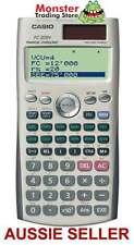 AUSSIE SELLER CASIO FINANCIAL CALCULATOR FC-200V FC200V FC200 FC100 NEW WARRANTY