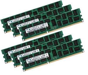 6x 4gb 24gb 2rx8 Ram Rdimm Ecc Reg Ddr3 1333 Mhz F Fujitsu Primergy Tx150 S7-afficher Le Titre D'origine