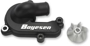 Boyesen Black Supercooler Water Pump Cover Impeller Kit Wpk-44Ab 0932-0154