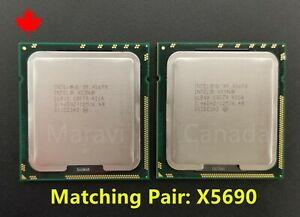 MATCH Intel Xeon X5690 3.46GHz Six Core  LAG1366 CPU Processor