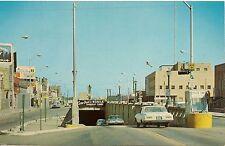 Bankhead Tunnel in Mobile AL Postcard