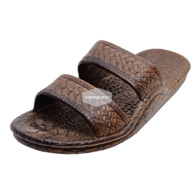fa8535c9c Jesus Sandal The Original Pali Hawaii Brown Hawaiian Sandal