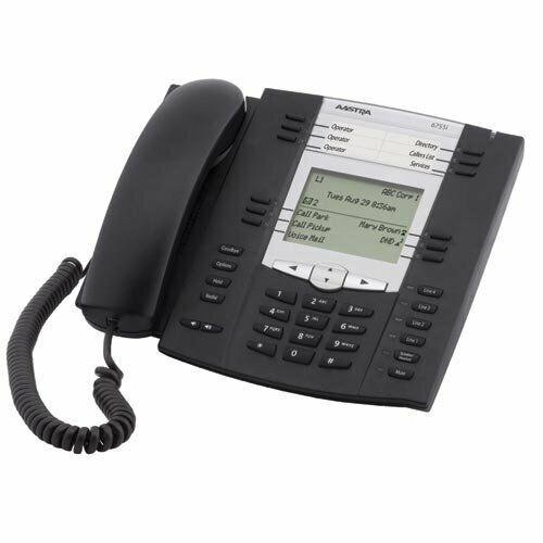 Aastra 6755i VoIP Phone Telephone IP backlit LCD 9 Line Handset