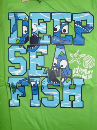 Jungen Achselshirt T-Shirt Fische Motiv Muskelshirt Kinder Tank Shirt Tiere Top