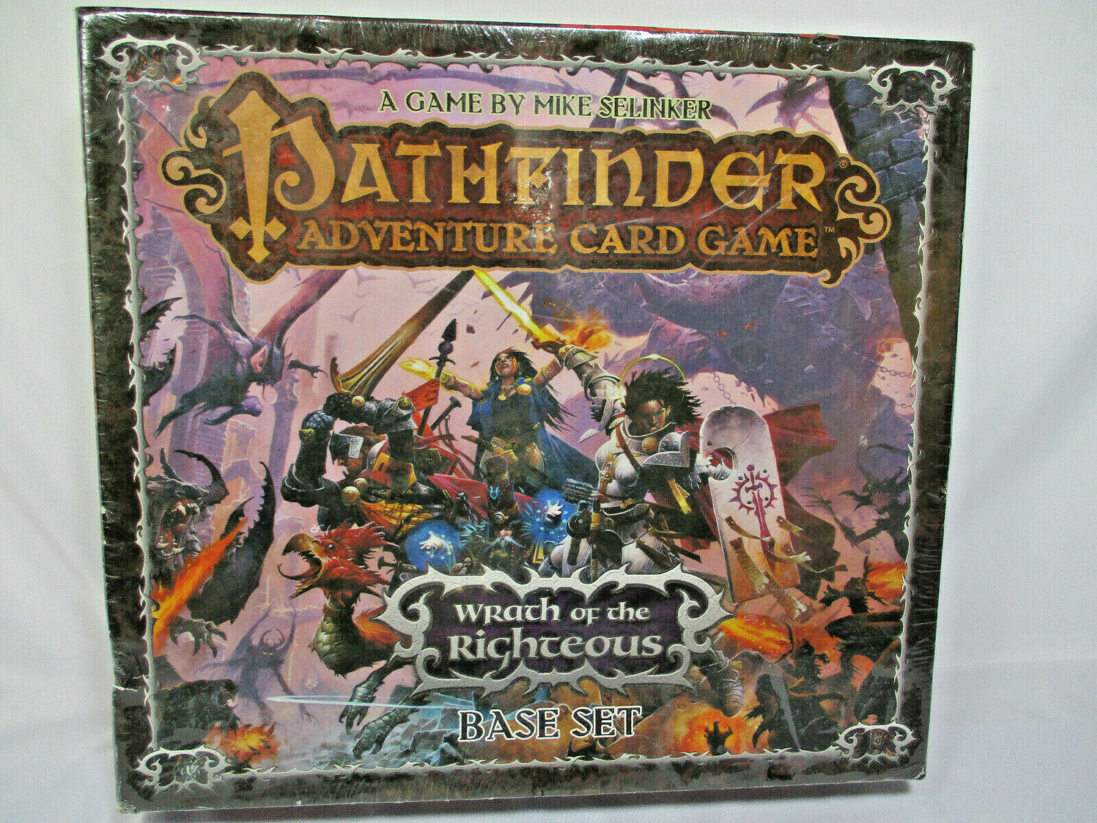 Sealed Pathfinder Wrath of the Righteous Card Game Role Playing 1-6 Character