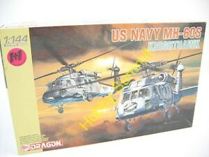 1-144-US-Navy-MH-60S-KNIGHT-HAWK-Helicopter-Model-Kit-Dragon-4605