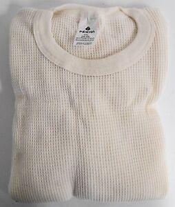 Indera-Men-039-s-Long-Johns-Thermal-Underwear-Top-Shirt-4XL-5XL-Waffle-Weave