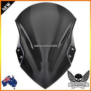 New Black ABS Windshield Windscreen For Kawasaki Ninja 400 2017 2018 2019 2020