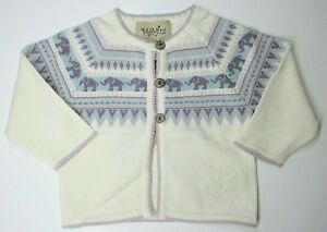 2924584c Image is loading Brand-New-MeMini-Circus-Cardigan-Elephants-Baby-Girls-