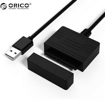 """3.0 to 2.5/"""" Hard Drive Adapter Cable//UASP SATA to USB 3.0 Converter Usable"""