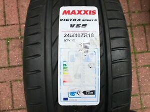 1-X-Nouveau-245-40-18-MAXXIS-VICTRA-SPORT-5-pneu-VS5-245-40-ZR18-97Y-XL