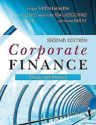 Corporate Finance: Theory and Practice-ExLibrary