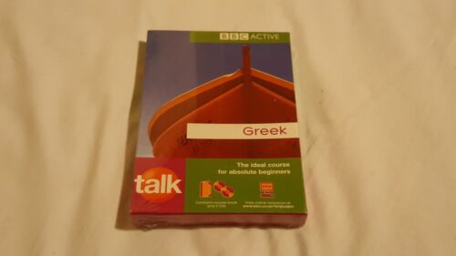 1 of 1 - Talk Greek BBC Active Mixed Media 2 X CD 1 X Book New Sealed