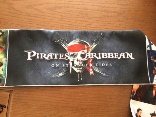 Pirates of the Caribbean Jack Muffler Costume Shawl Quasten Schal Scarf