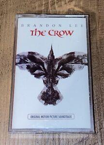 THE CROW Original Soundtrack Cassette Tape Various Artists Brandon Lee 1994 VGC