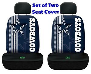 Image Is Loading Dallas Cowboys NFL Printed Logo Car Seat Cover