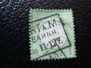 Germany-Stamp-Yvert-N-20-Obl-2eme-Choice-Ripped-Torn-stamp-Germany