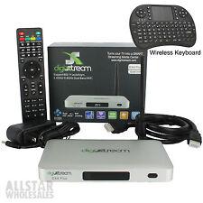 DigiXstream DX4 Plus DX4+ Android IPTV Media Box Quad Core 4k + FREE Keyboard