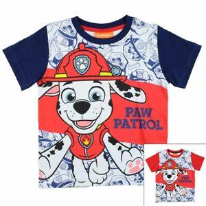 Rot T-Shirt Gr.: 92-128 Shirt Paw Patrol