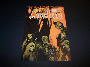 SIGNED FRANCESCO FRANCAVILLA AFTERLIFE WITH ARCHIE #5 ZOMBIES INVADE RIVERDALE