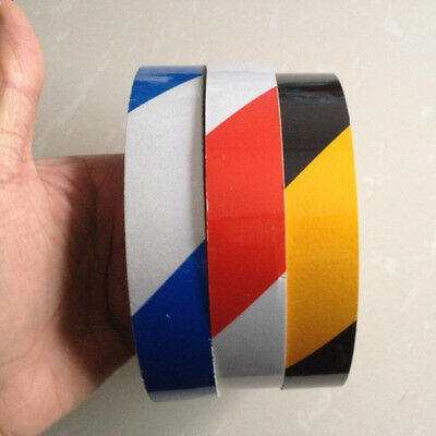"""Safety Reflective Warning Sticker Self Adhesive Tape 25mm Width 1/"""""""