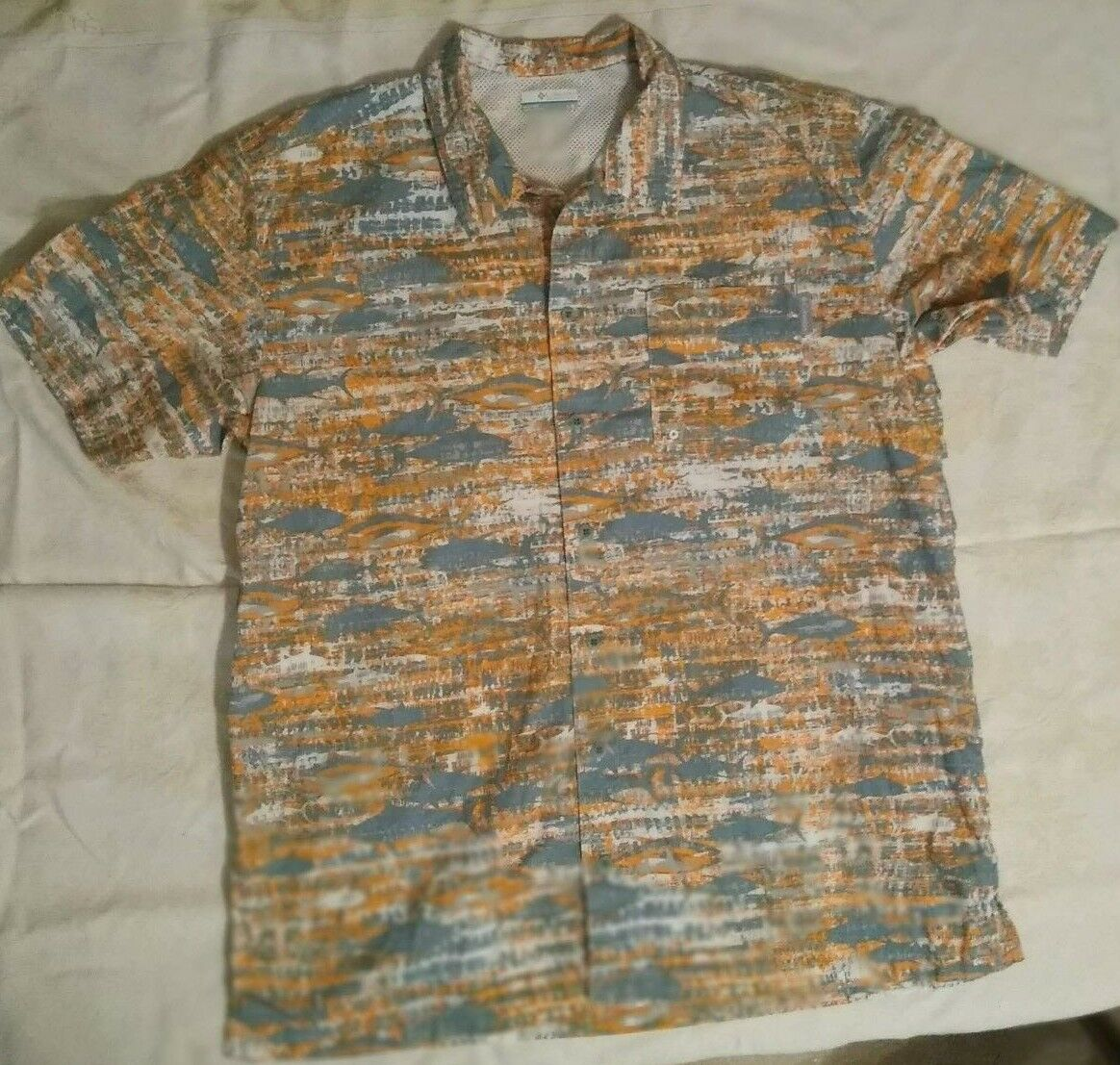 COLUMBIA PFG FISHING SHIRT WITH VENTS