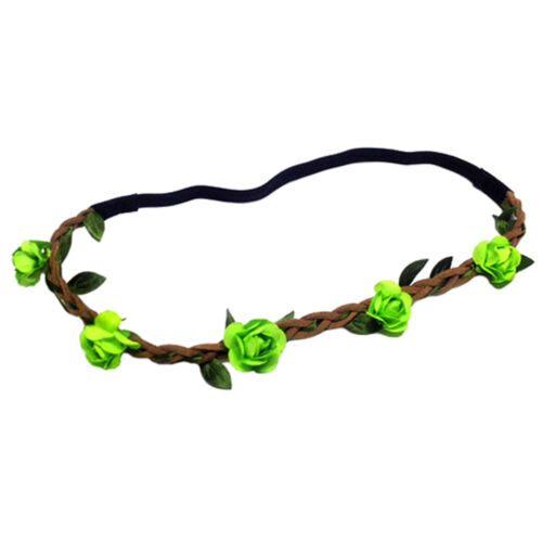 3PCS Rose Flower Headband Hair Band  Girls Hair Beauty Lady Accessories Outsoor